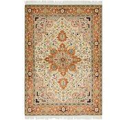 Link to 4' 10 x 7' Tabriz Persian Rug