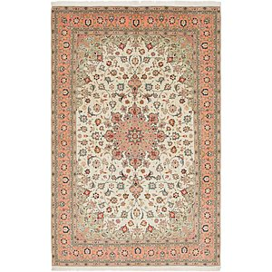 6' 5 x 10' 2 Isfahan Persian Rug