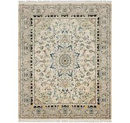 Link to 6' 8 x 8' 6 Tabriz Persian Rug