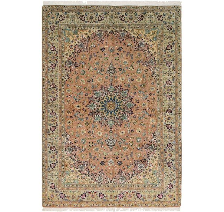 6' 6 x 9' 8 Isfahan Persian Rug