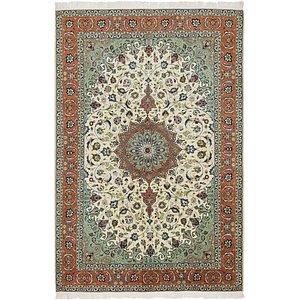 6' 5 x 9' 8 Isfahan Persian Rug