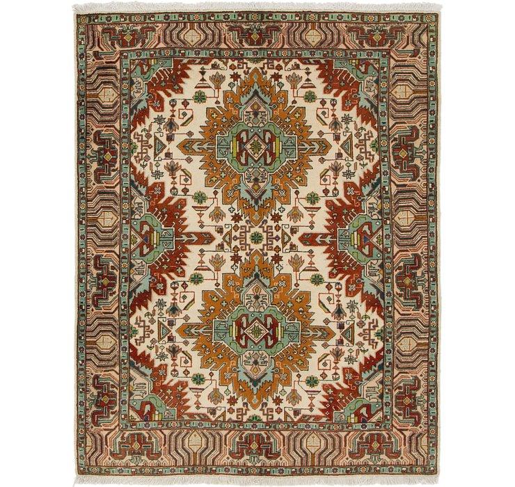 3' 7 x 4' 7 Tabriz Persian Rug