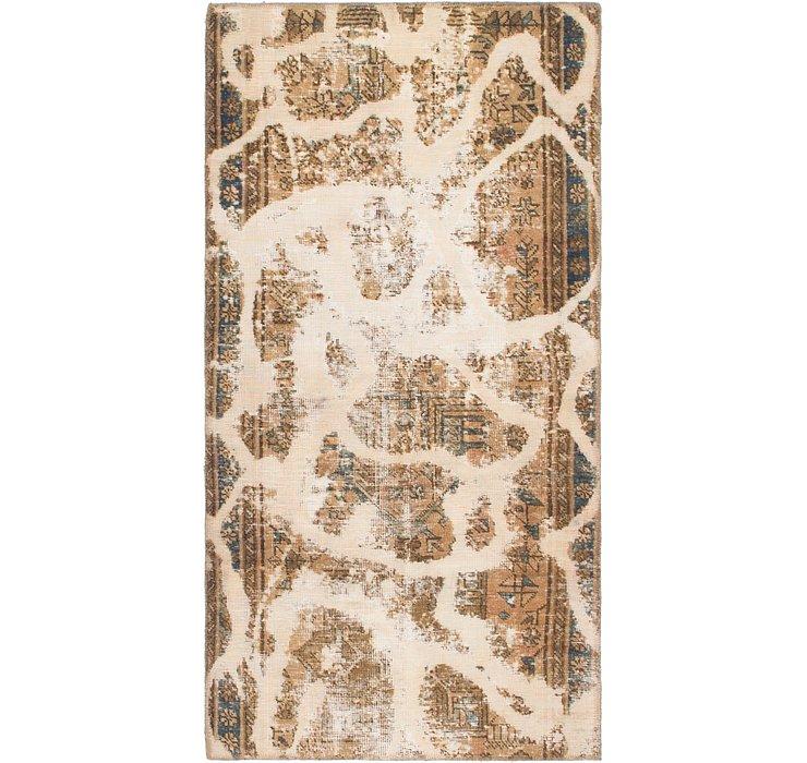 3' x 5' 9 Ultra Vintage Persian Rug