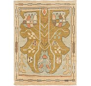 Link to 85cm x 115cm Oushak Square Rug