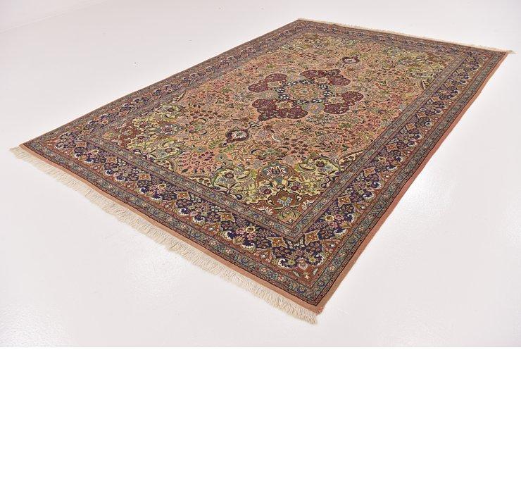 6' 7 x 9' 10 Tabriz Persian Rug