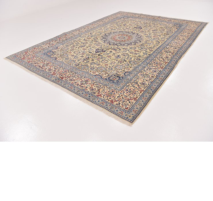 7' 10 x 11' 3 Nain Persian Rug