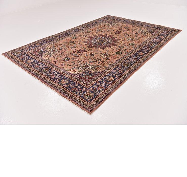198cm x 290cm Tabriz Persian Rug