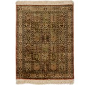 Link to 1' 10 x 2' 4 Qom Persian Rug