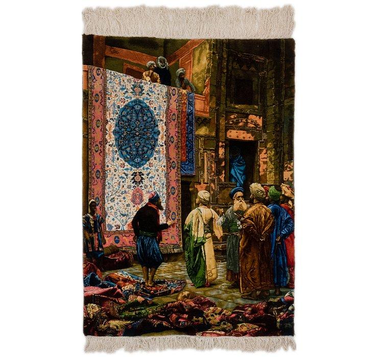85cm x 125cm Tabriz Persian Rug
