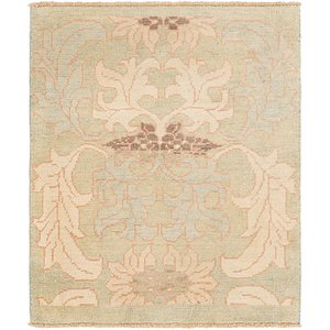 Link to 3' 10 x 4' 7 Oushak Square Rug item page