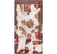 Link to 110cm x 218cm Ultra Vintage Persian Runner Rug