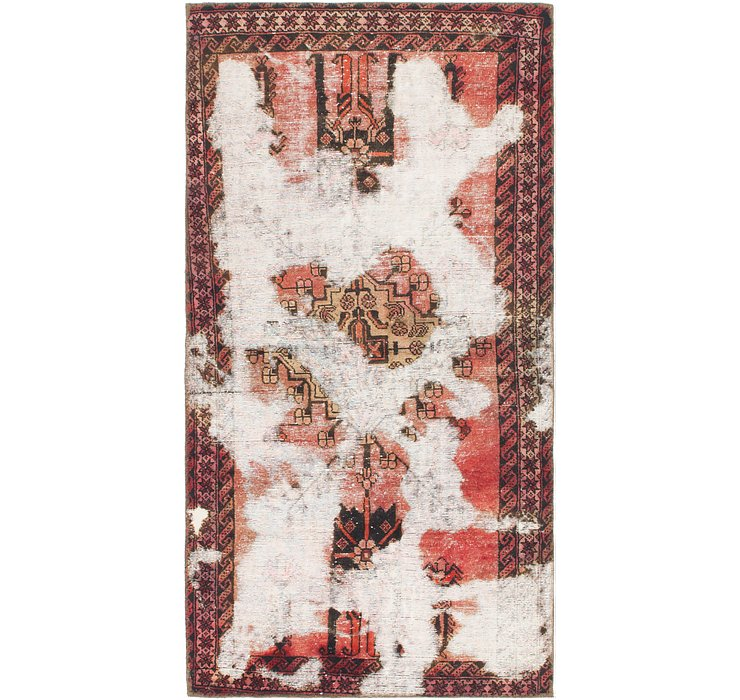 110cm x 218cm Ultra Vintage Persian R...