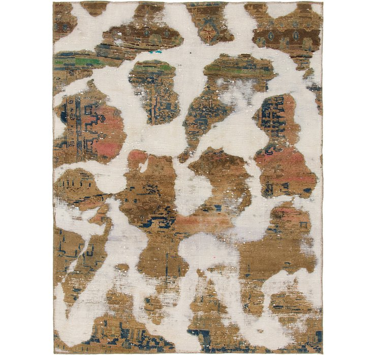 5' 3 x 6' 10 Ultra Vintage Persian Rug