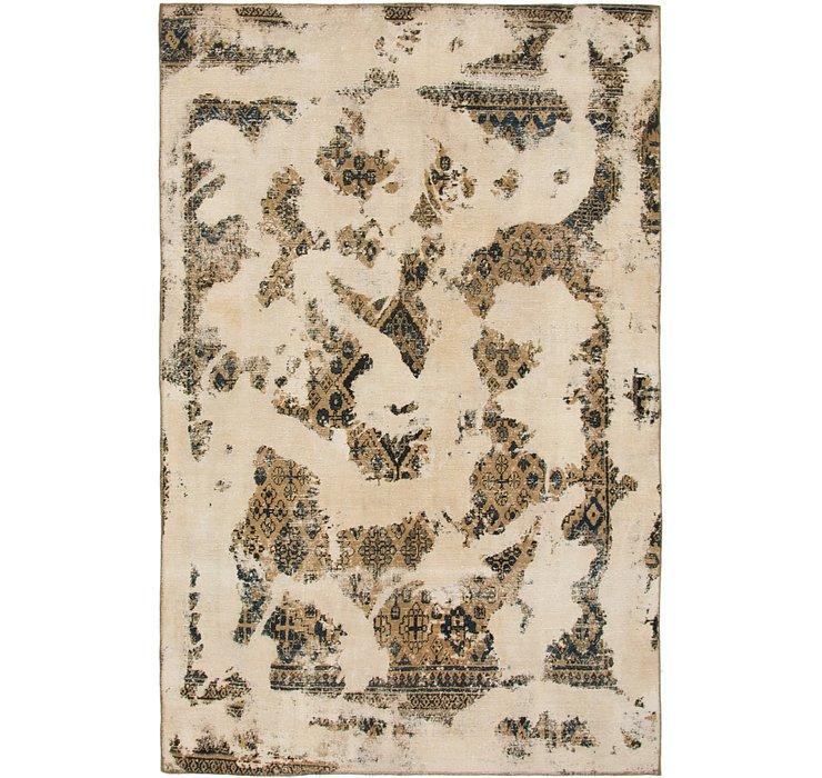 6' 3 x 9' 8 Ultra Vintage Persian Rug