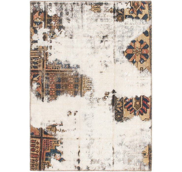 3' 2 x 4' 5 Ultra Vintage Persian Rug