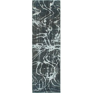 HandKnotted 2' 8 x 9' 3 Ultra Vintage Persian R...