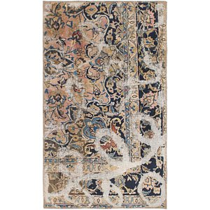 HandKnotted 2' 6 x 4' 3 Ultra Vintage Persian Rug