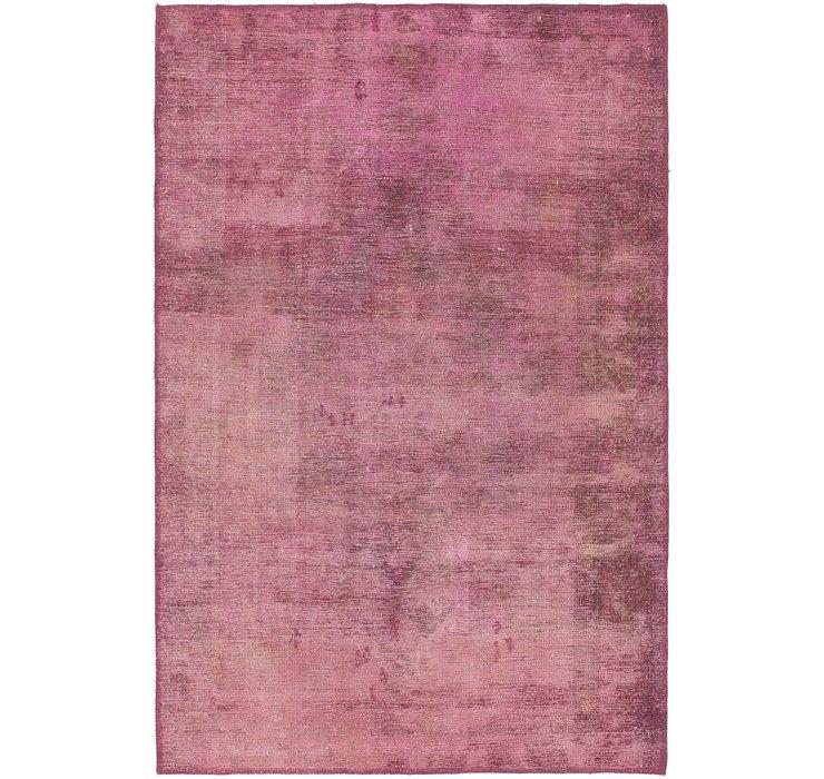 4' 2 x 6' 4 Ultra Vintage Persian Rug