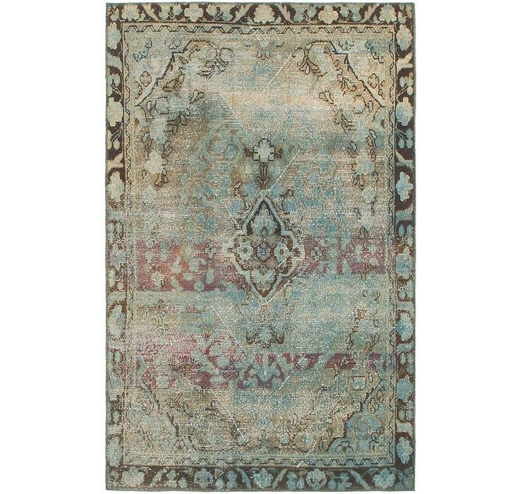 3' 10 x 6' 2 Ultra Vintage Persian Rug