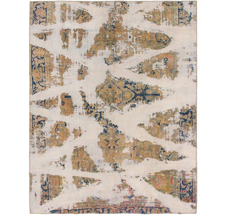 6' 7 x 8' 3 Ultra Vintage Persian Rug
