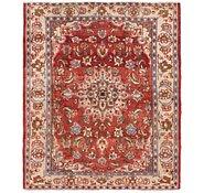 Link to 5' 2 x 6' 2 Hamedan Persian Square Rug