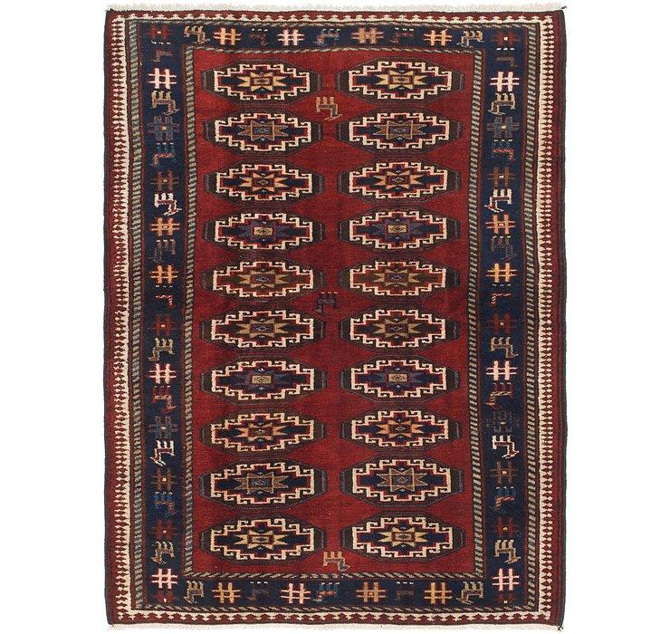 4' 10 x 6' 9 Shiraz Persian Rug