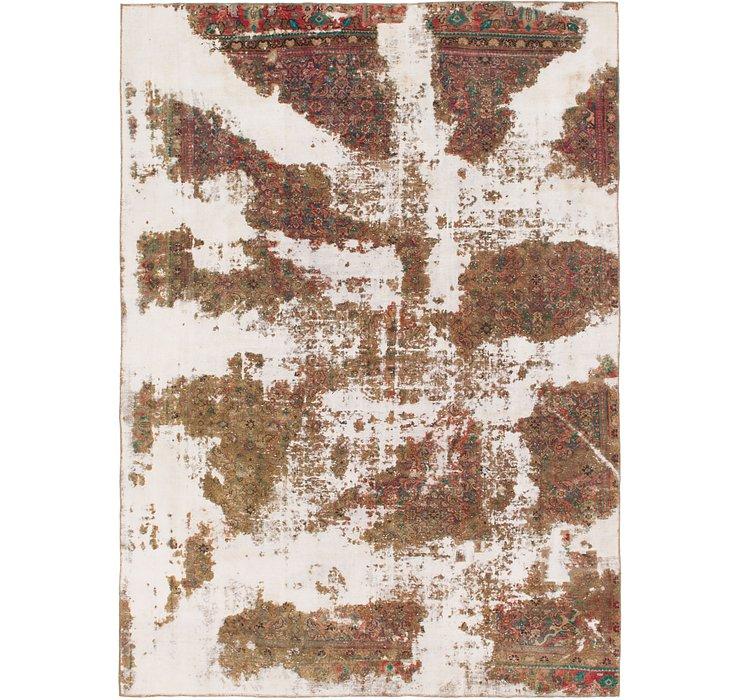 8' 9 x 12' Ultra Vintage Persian Rug
