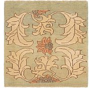 Link to 4' 6 x 4' 8 Oushak Square Rug