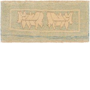 Link to 55cm x 122cm Oushak Runner Rug item page