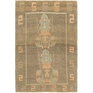 Link to 122cm x 178cm Oushak Rug item page