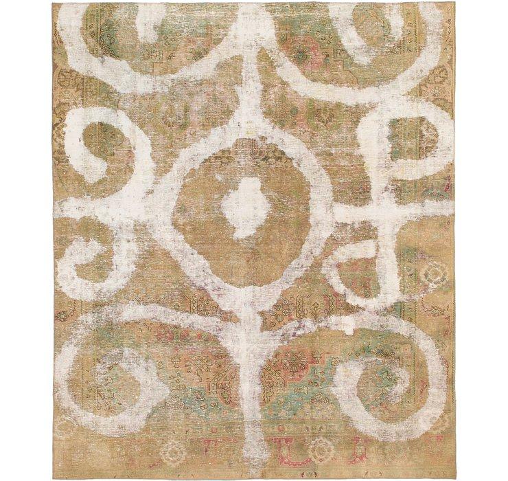 8' 9 x 10' 5 Ultra Vintage Persian Rug