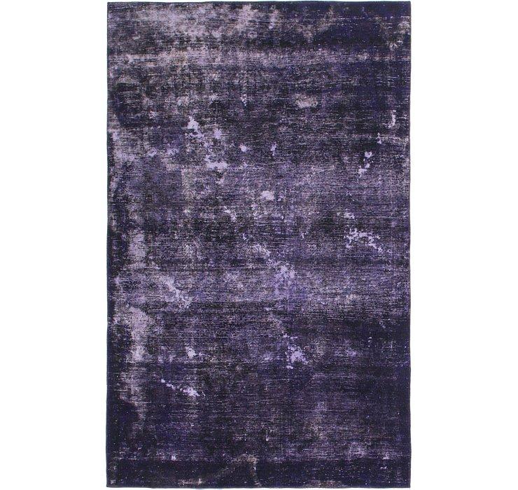 168cm x 267cm Ultra Vintage Persian Rug