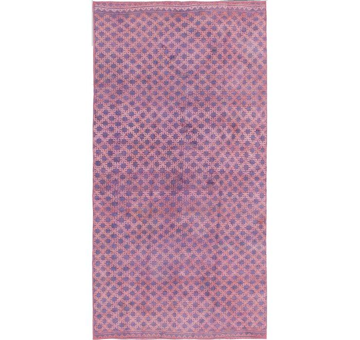 4' 3 x 8' 2 Ultra Vintage Persian Rug