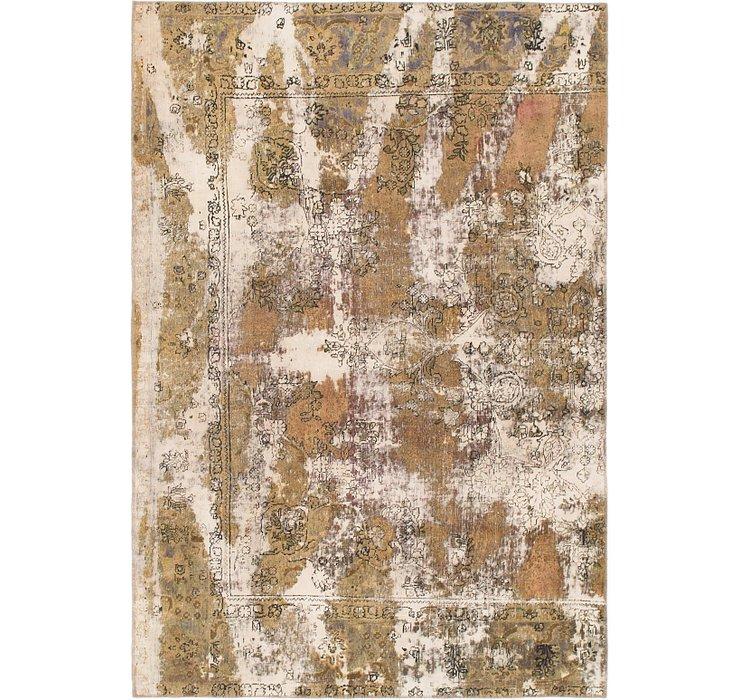 6' 5 x 9' 4 Ultra Vintage Persian Rug