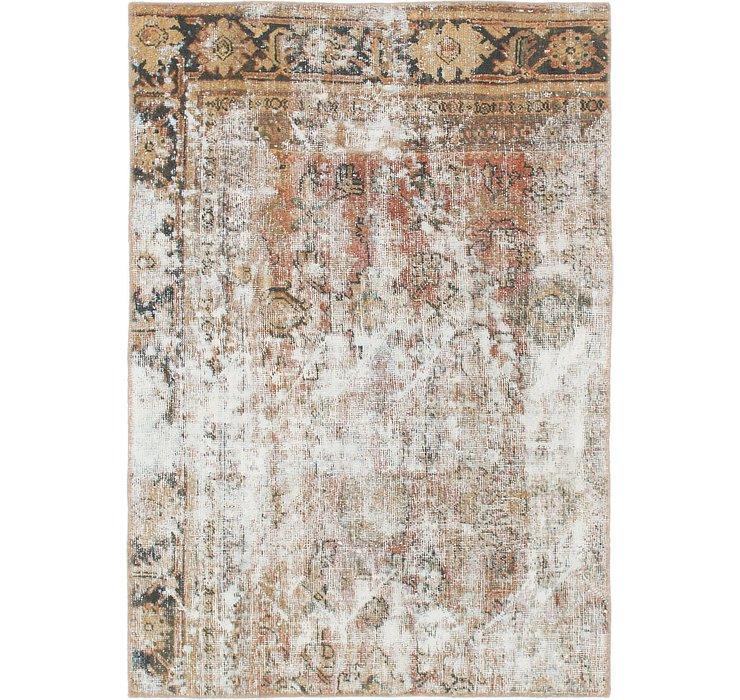 4' x 5' 10 Ultra Vintage Persian Rug