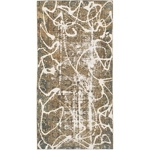 HandKnotted 4' 8 x 9' Ultra Vintage Persian Rug