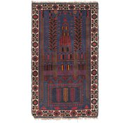 Link to Unique Loom 2' 6 x 4' 10 Balouch Persian Rug
