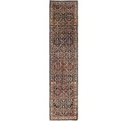 Link to 3' 6 x 15' 9 Hossainabad Persian Runner Rug