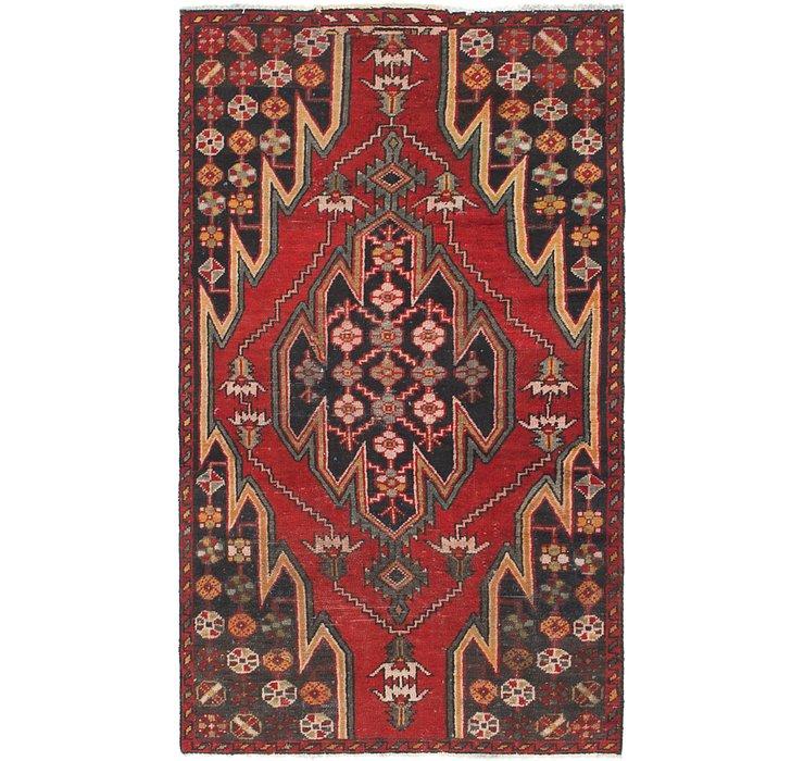 3' 2 x 5' 7 Mazlaghan Persian Rug
