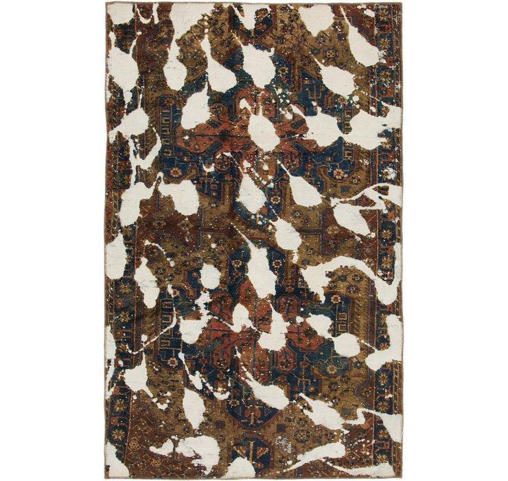 4' 8 x 7' 4 Ultra Vintage Persian Rug