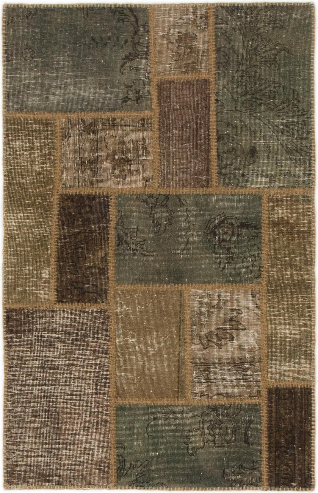 Brown 2 8 X 4 Ultra Vintage Persian Rug Irugs Uk