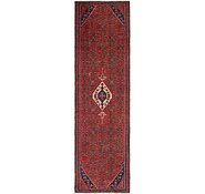 Link to 127cm x 493cm Hossainabad Persian Runner Rug