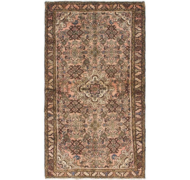3' 6 x 6' 2 Hossainabad Persian Rug