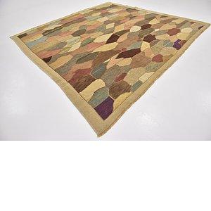 10' 8 x 11' Oushak Square Rug