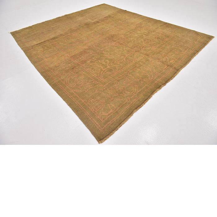 9' 2 x 10' 5 Oushak Square Rug