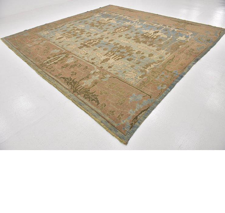 11' 8 x 12' 2 Oushak Square Rug