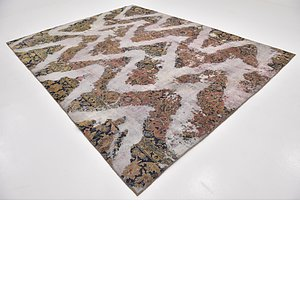 HandKnotted 8' 10 x 11' 4 Ultra Vintage Persian Rug