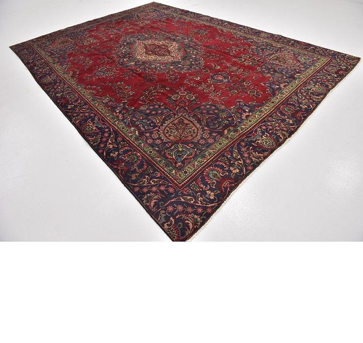 9' x 12' 3 Tabriz Persian Rug