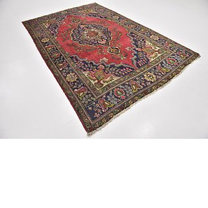 Link to 6' 4 x 9' 5 Tabriz Persian Rug item page