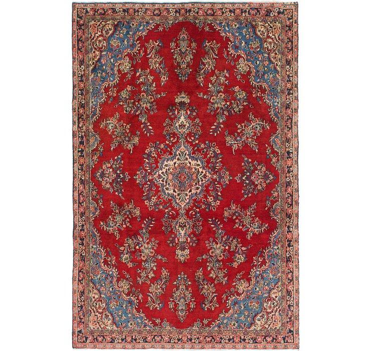 6' x 9' 5 Shahrbaft Persian Rug